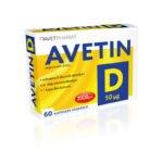 AVETIN D 50 µg (2000 j.m.)